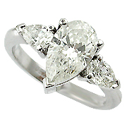 Platinum 2.00cttw Diamond Ring