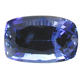 0.97 ct Cushion Cut Blue Sapphire : Fine Blue