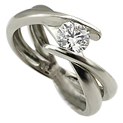 18K White Gold 0.20ct Diamond Ring