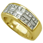 18K Yellow Gold 2.00cttw Diamond Band