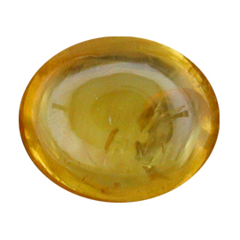 1.80 ct Cabochon Yellow Sapphire : Golden Yellow
