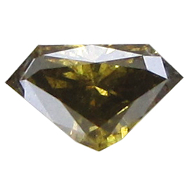 0.33 ct Diamond Diamond : Fancy Dark Brownish Yellowish Green / SI2