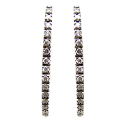 18K White Gold 0.46cttw Diamond Earrings