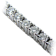 18K White Gold 3.00cttw Diamond Bracelet