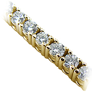 18K Yellow Gold 3.00cttw Diamond Bracelet