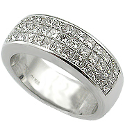 Platinum 1.90cttw Diamond Band