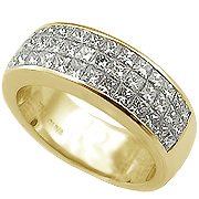 18K Yellow Gold 1.90cttw Diamond Band