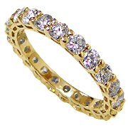 18K Yellow Gold 1.60ct Diamond Band
