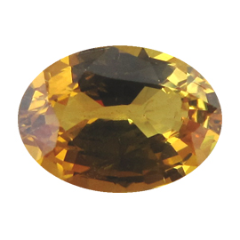 1.32 ct Oval Yellow Sapphire : Deep Rich Yellow
