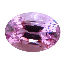 2.79 ct Oval Pink Sapphire : Fine Pink