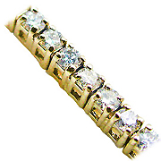 18K Yellow Gold 2.00cttw Diamond Bracelet