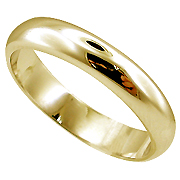 18K Yellow Gold Lady's Wedding Band