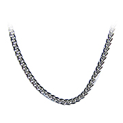 18K White Gold Spiga Chain