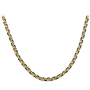 18K Yellow Gold 16'' Hanker Chain