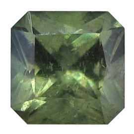 3.68 ct Radiant Sapphire : Green