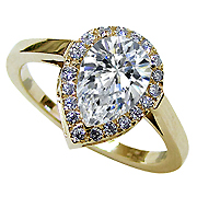 18K Yellow Gold 1.75cttw Diamond Ring