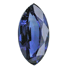 0.66 ct Marquise Blue Sapphire : Midnight Blue
