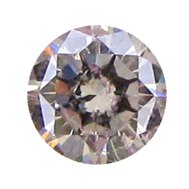 0.29 ct Round Diamond : Pink / I1