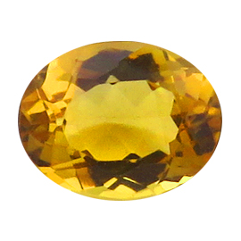 1.86 ct Oval Citrine : Golden Yellow