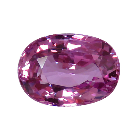 2.30 ct Oval Pink Sapphire : Rich Pink