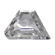 0.10 ct E / SI1 Trapezoid Diamond