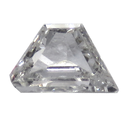 0.10 ct Trapezoid Diamond : E / SI1