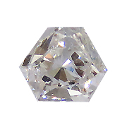 0.18 ct G / SI1 Hexagon Diamond