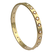 18K Yellow Gold 2.40cttw Diamond Bracelet