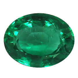 1.90 ct Oval Emerald : Deep Rich Green