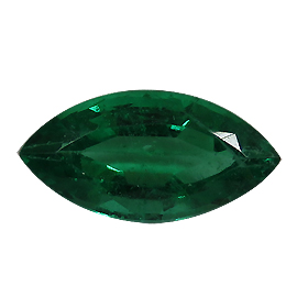 1.40 ct Marquise Emerald : Deep Rich Green