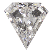 0.71 ct E / SI1 Diamond Shape Diamond
