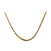 "18K Yellow Gold 16"" Ronko Chain"