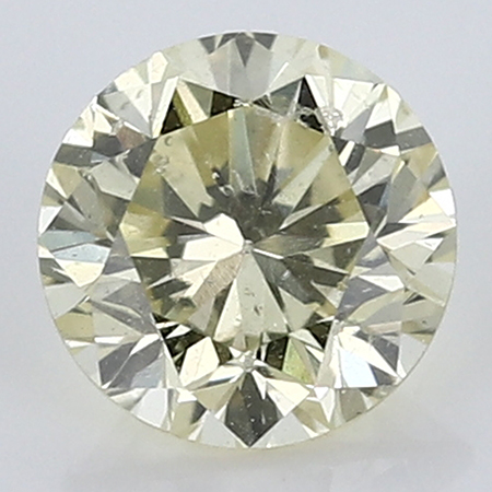 0.38 ct Round Diamond : W-X / SI2