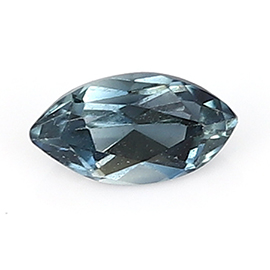 0.13 ct Marquise Blue Sapphire : Darkish Blue