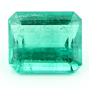 10.39 ct Fine Grass Green Emerald Cut Emerald