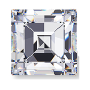 0.13 ct D-F/ VS Carre Diamond
