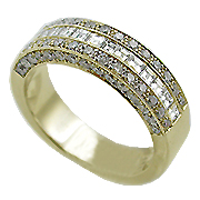 18K Yellow Gold 1.33cttw Diamond Band
