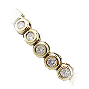 14K Yellow Gold 2.75cttw Diamond Bracelet