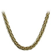 "18K Yellow Gold 16 - 20"" Wheat Chain"