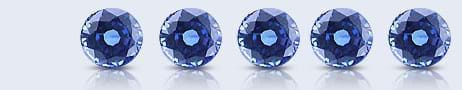 Calibrated Blue Sapphires