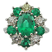 Princess Diana Emerald Rings Princess Diana Emerald Rings Leave