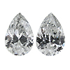 Matching Pear Shape Diamond Pair