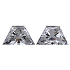 Matching Trapezoid Diamond Pair