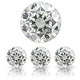 0.24 ct Round Diamond : G / SI2