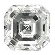 0.58 ct Asscher Cut Diamond : G / VVS1
