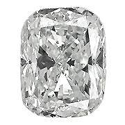 0.37 ct Cushion Cut Diamond : H / VS1