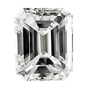 0.40 ct Emerald Cut Diamond : H / SI2