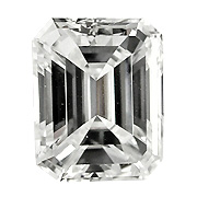 0.50 ct Emerald Cut Diamond : J / VS1