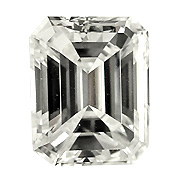 1.06 ct Emerald Cut Diamond : K / VS2