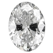 0.59 ct Oval Diamond : E / SI1